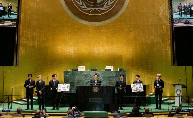 BTS 유엔 연설서