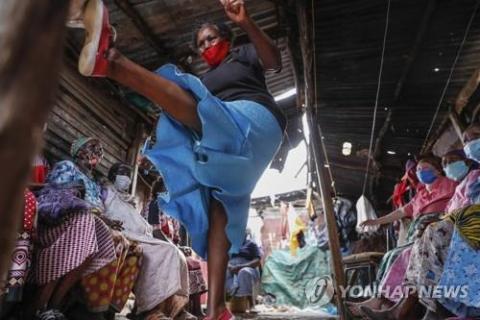 '나쁜손 K-호신술로 제압' 케냐 빈민가 여성들  태권도 배워서 성폭행 막는다