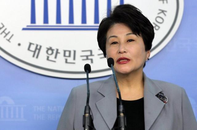 전여옥 전 새누리당(국민의힘 전신) 의원. 연합뉴스