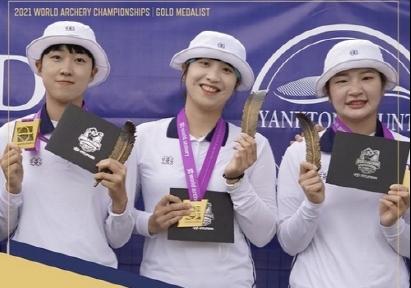 한국, 세계양궁선수권 단체전 금 싹쓸이…안산·김우진 2관왕