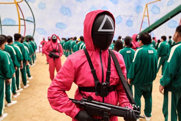 넷플릭스 오리지널 시리즈 '오징어게임'의 한 장면. 넷플릭스 제공