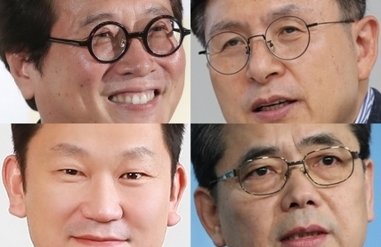 (왼쪽 상단부터 시계 방향으로)황교익, 황교안, 곽상도, 곽상언. 연합뉴스, 매일신문DB