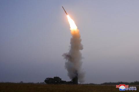 북한, 이틀 만에 또 미사일 발사…