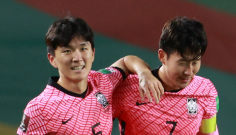 '손흥민 결승골' 벤투호, 시리아에 2-1 승리…월드컵 최종예선 2승 1무