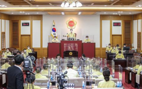 대구-광주 '달빛동맹' 강화 개정안 가결… 대구시의회 폐회