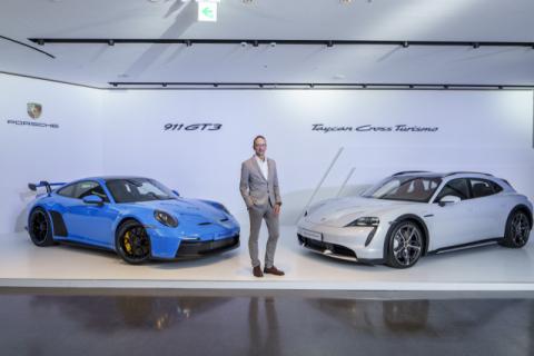 포르쉐, 전기차 '타이칸 크로스 투리스모'와 '911 GT3' 국내 출시