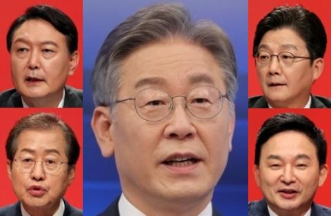 이재명, 서울에서는 윤홍유원에 전패…지지자