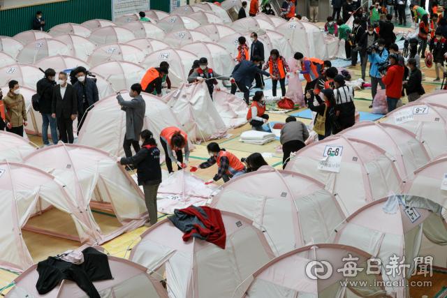 '포항 지진' 이재민들 1천435일만에 일상으로 귀환