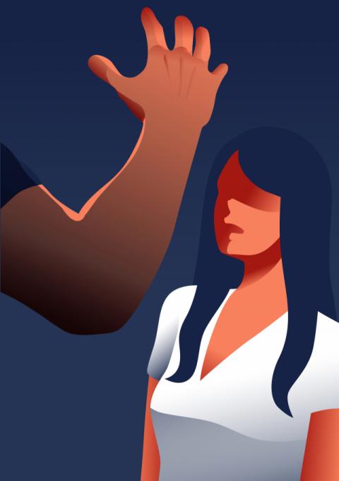 10대 여학생 성폭행 시도하다 잡힌 20대, 경찰에 잡혀가면서도 '메롱'