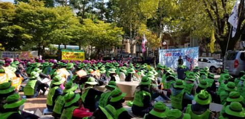 교육공무직, 민노총 파업에 동참…대구 50개교 대체 급식