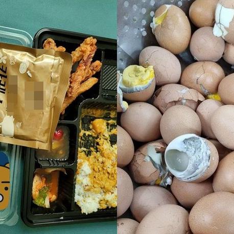 유통기한 3개월 지난 카레·회색빛 달걀…군 부대 또 '불량급식' 논란