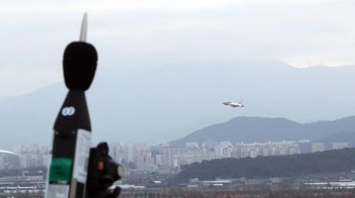 '군공항 소음영향도' 측정 시끌…대책위