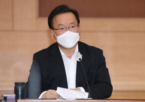 전국민 백신 접종 완료율 70% 돌파, 김부겸