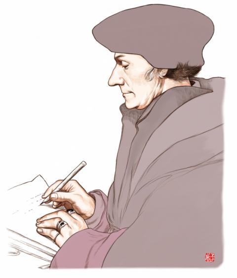 [오늘의 역사] 1469년 10월 27일 르네상스 인문주의자 에라스무스 출생