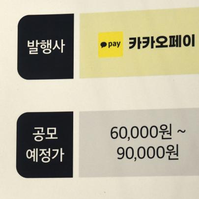 카카오페이, 일반 공모청약 첫날 증거금 2조원…'국민주' 등극 할까?
